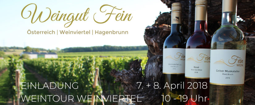 Weintour Weinviertel 7. + 8. April 2018