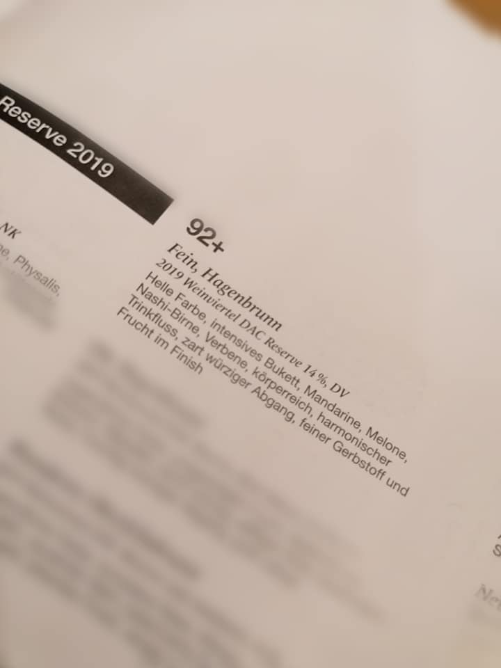 A la Carte 2020 Weinviertel DAC Reserve